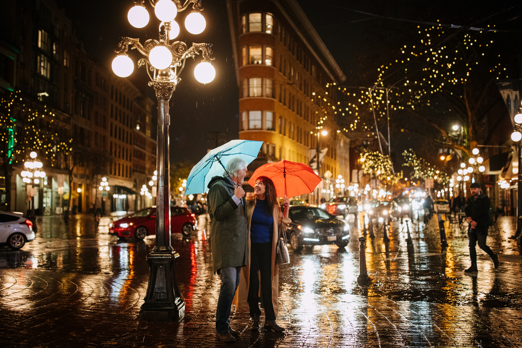 Healthy benefits of walking in the rain