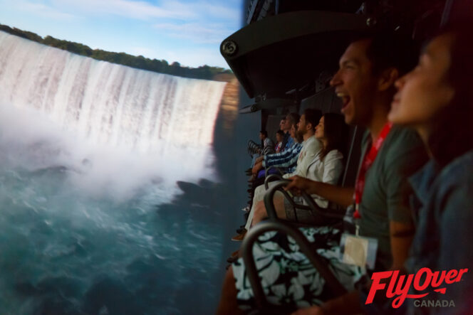 Fly Over Canada experience