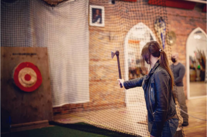 Urban Axe-Throwing and Archery Adventures Now Available in Downtown Vancouver