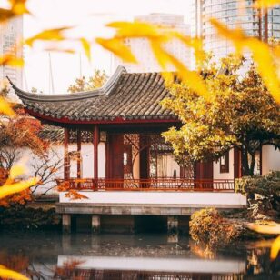 Dr. Sun Yat-Sen Garden in the fall. Find your zen in Vancouver.
