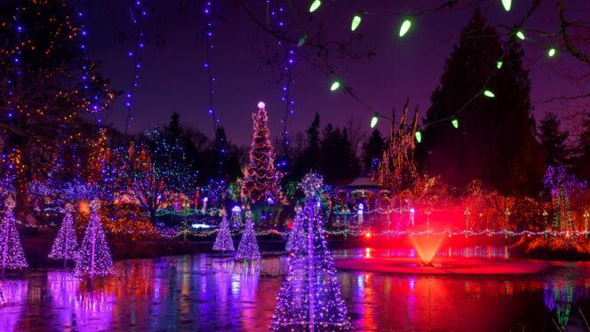 VanDusen Gardens Festival of Lights in Vancouver