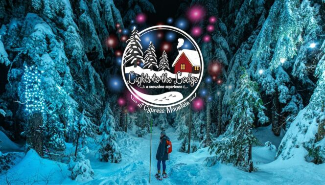 Lights to the Lodge at Cypress Mountain