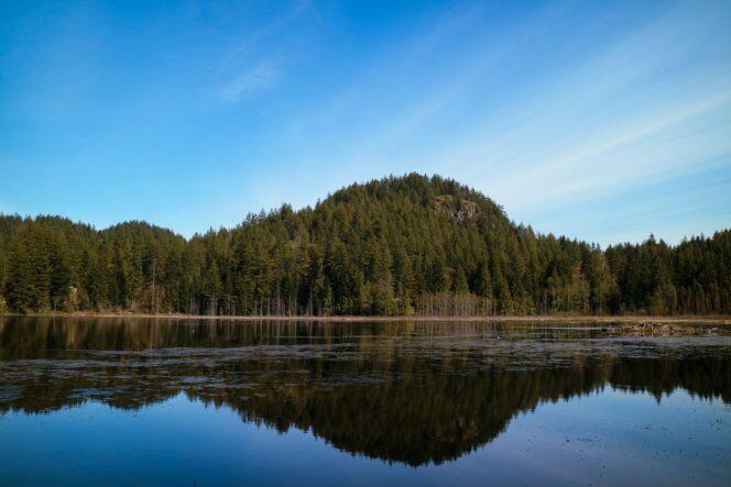Minnekhada Regional Park near Vancouver
