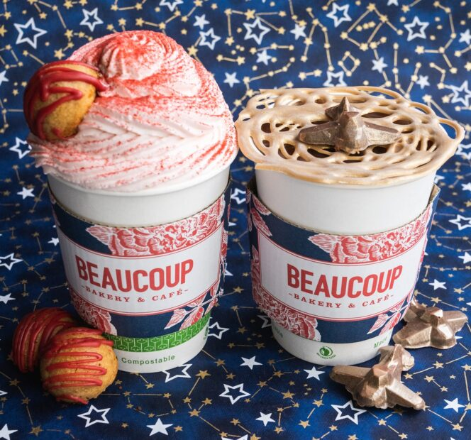 Beaucoup Bakery hot chocolate beat the winter blues