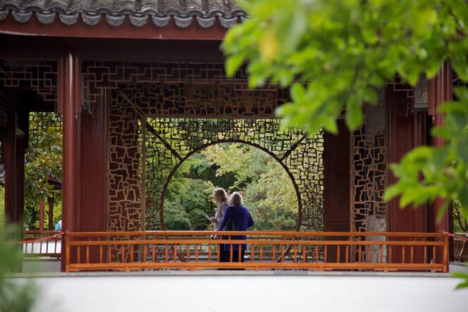 Dr Sun Yat-Sen Garden in Vancouver