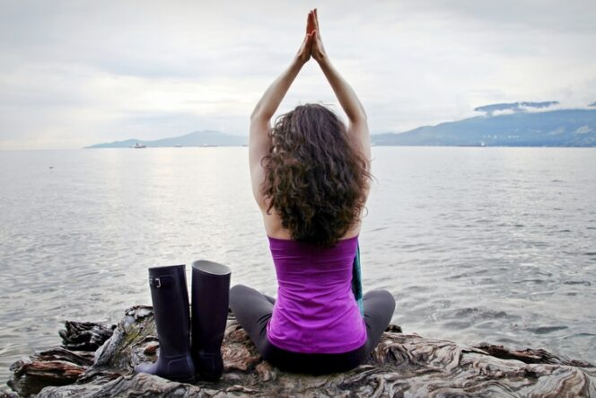 Where to practice yoga outside in Vancouver