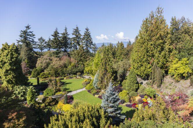 Quarry Gardens at Queen Elizabeth Park in Vancouver