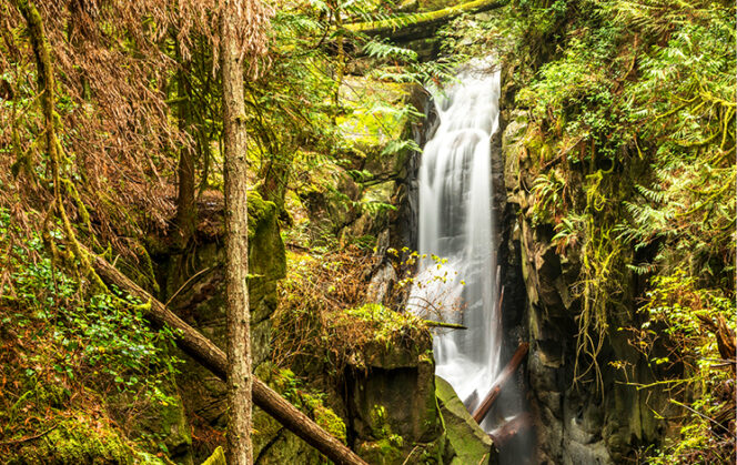 Cypress Falls in West Vancouver