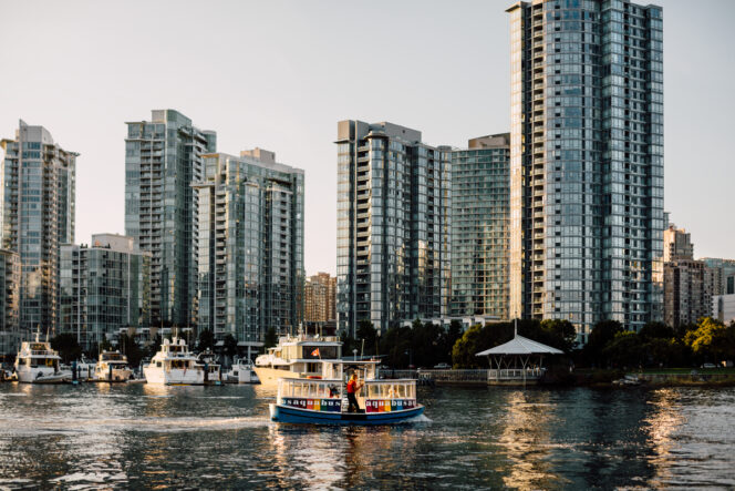 View of Yaletown from Charleson Park