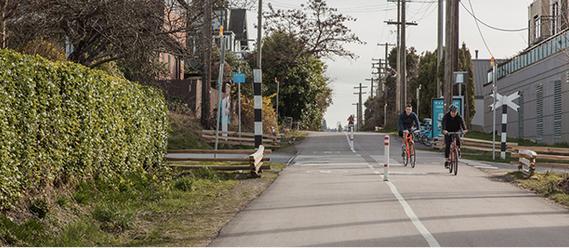 Vancouver's Arbutus Greenway bike path