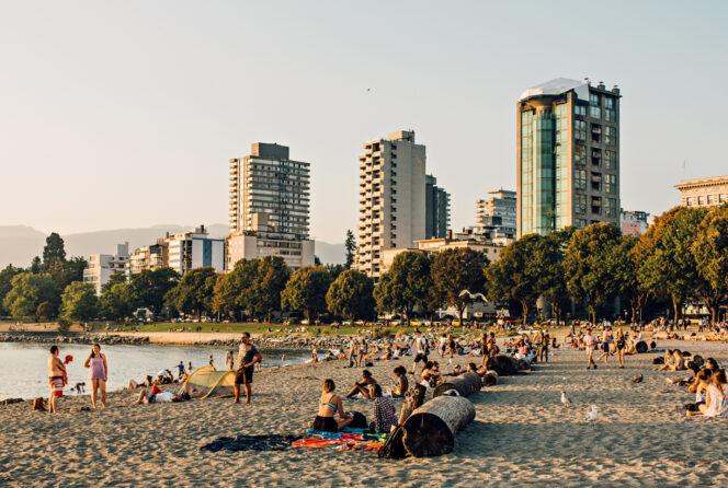 Vancouver's English Bay Beach