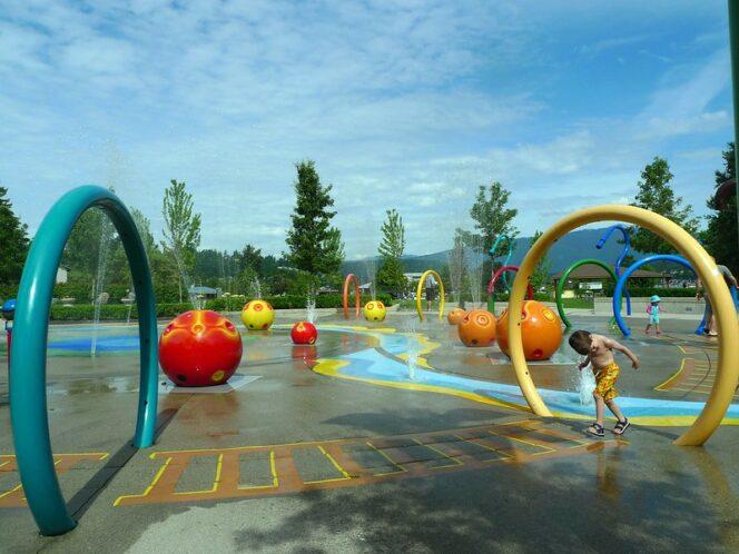 Rocky Point Park spray park