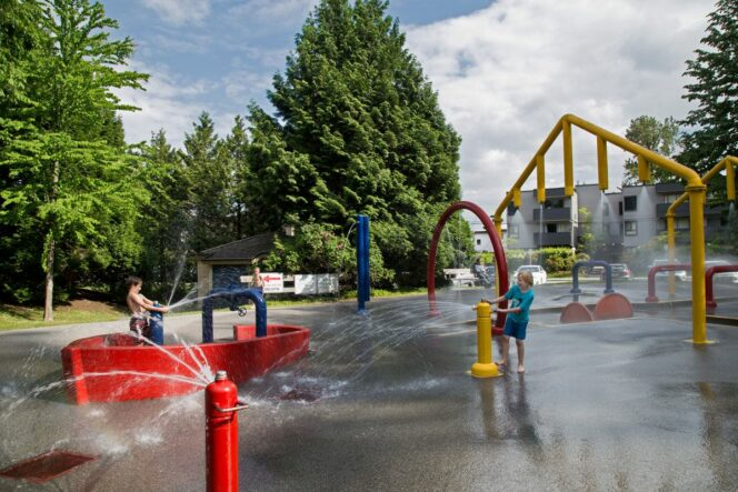 Blue Mountain Spray Park Coquitlam