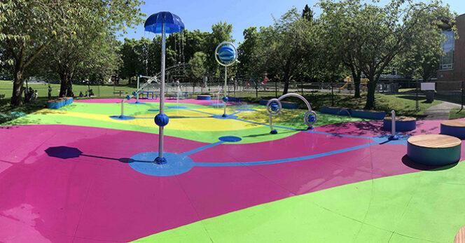 Connaught Spray Park Vancouver