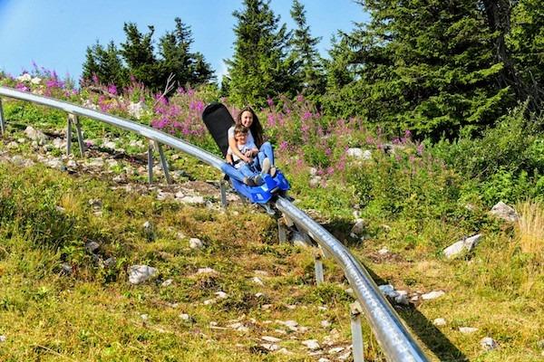 Eagle Coaster at Cypress Mountain