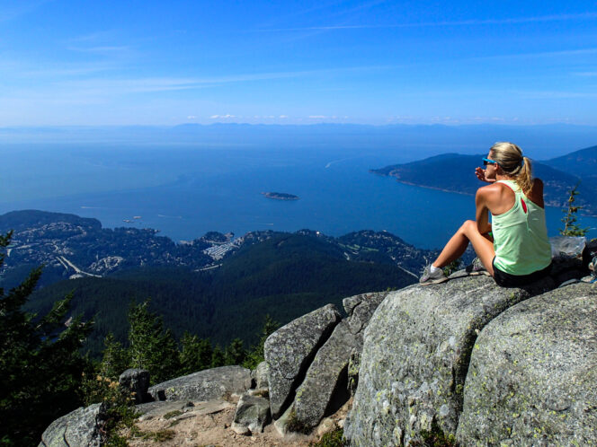Eagle Bluff in Cypress Provincial Park