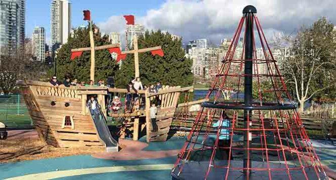 Charleson Park playground