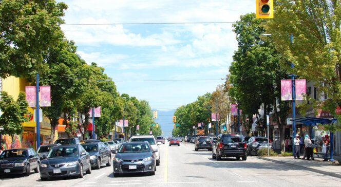 Fraser Street, specifically the Sunset neighbourhood, has a long history as a shopping and food district.