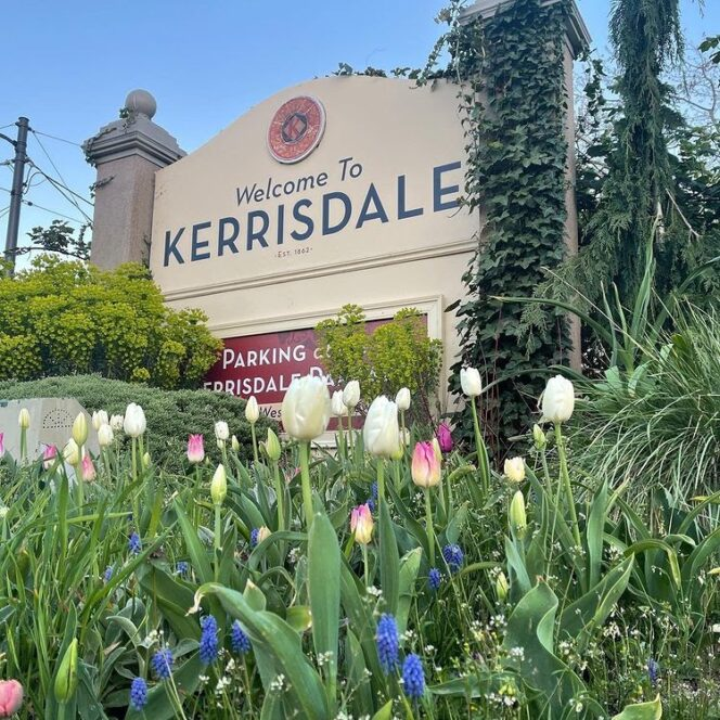 The Kerrisdale neighborhood in Vancouver is filled with low to high end shops for all types of shoppers.