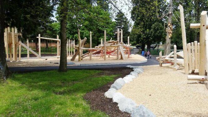 Sapperton Park playground