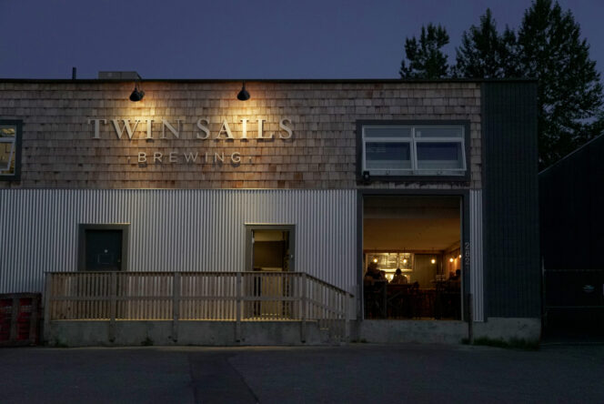 Twin Sails Brewing in Port Moody