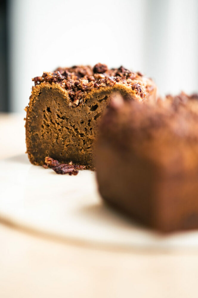 Pecan Pumpkin Loaf from To Live For