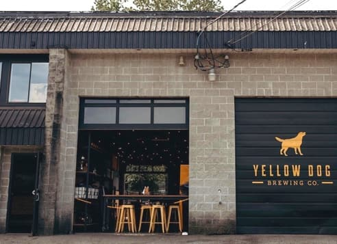 Yellow Dog Brewing Co. in Port Moody